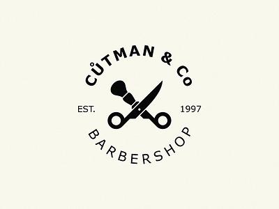barbaer shop shaving brush scissors barbaer