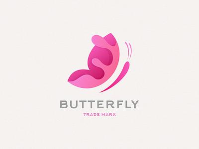 butterfly gradient logo butterfly logo butterfly