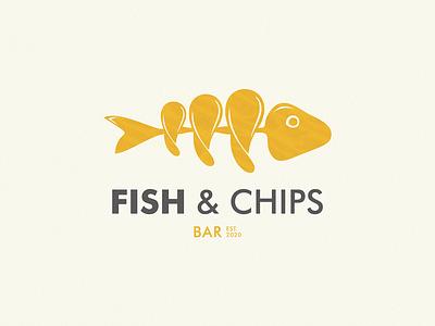 FISH and CHIPS bar chips fish