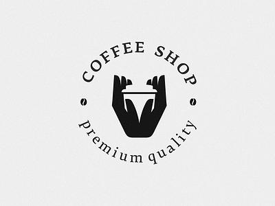 coffee shop hand coffee cup