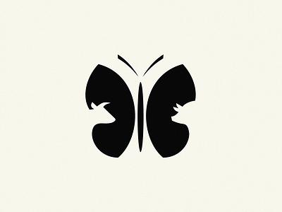farm / logo idea maet cow pig butterfly logo farm
