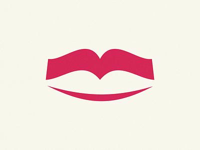 lips book smile book lips