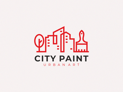 city paint urban art paint logo paint brush paint