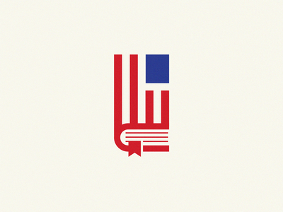 american book flag logo