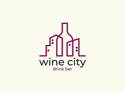wine city bar drink wine bottle city wine