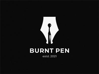 burnt pen match