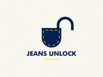jeans unlock graphic design