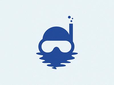 diver branding logo diver