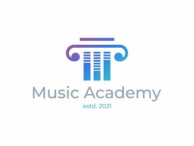 music academy music academy design symbol logo