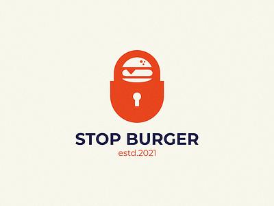 Stop Burger lock food cafe vegan burger stop burger