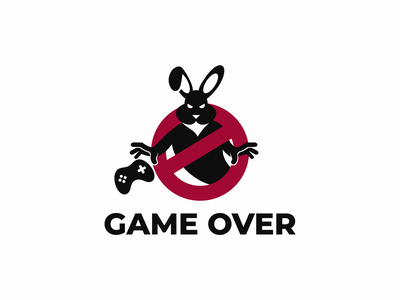 game over rabbit game over