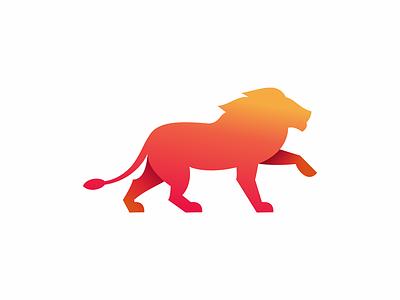 Lion gradient lion