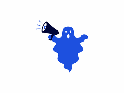 megaphone ghost megaphone ghost