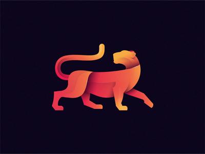 Jaguar identity brand illustration icon logo wild animal jaguar