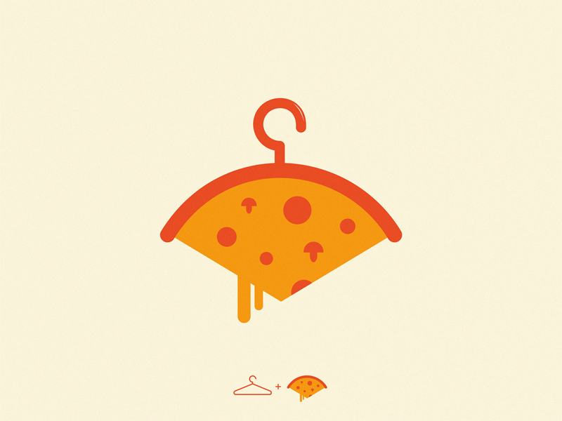 pizza fashion fashion pizza icon symbol logo
