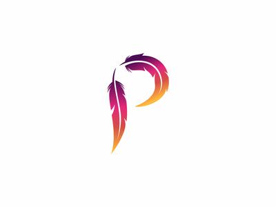 Parrot Letter P By Yuri Kartashev