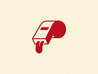 Whistle icon illustration symbol logo