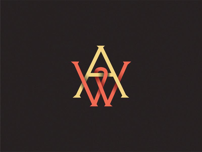 Monogam  monogam symbol sign logo letter