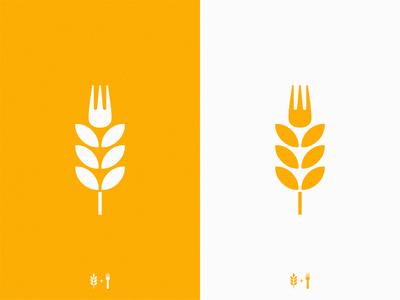Italian food / spaghetti / pasta fork spikelet pasta spaghetti food italian icon illustration symbol logo
