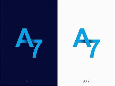A7 icon illustration symbol logo