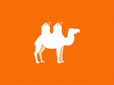 Desert bazaar icon illustration symbol logo
