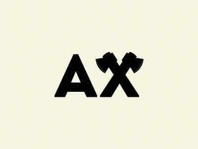 AX logo symbol illustration icon