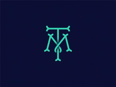TM icon logo letter