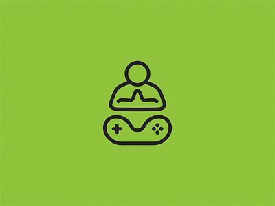 Guru game design icon brand logo