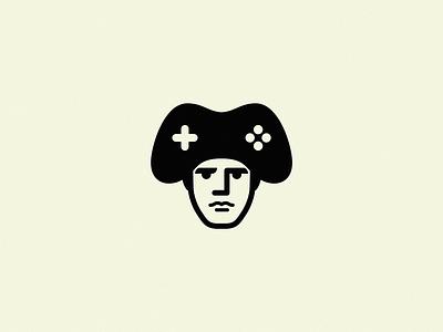 Napoleon / Game / Napolegame design icon brand logo