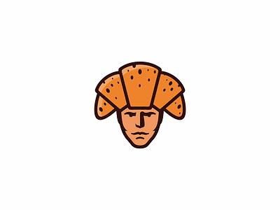 Napoleon baker design icon brand logo