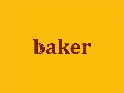 Baker design icon brand logo