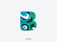 Brain letter B