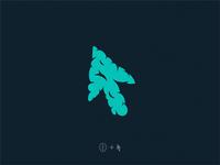 smart click / brain + cursor