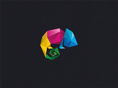 Chameleon design chameleon logo