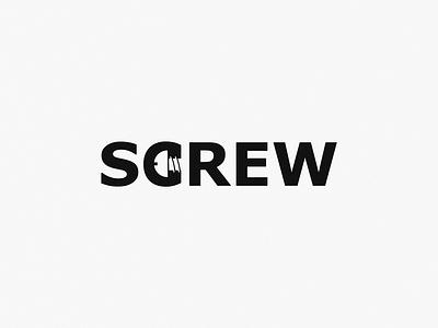Screw design brand symbol icon logo