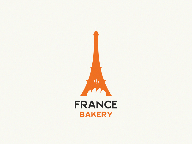 Bakery design brand symbol icon logo