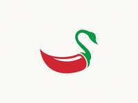 swan + pepper / logo idea