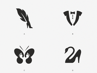 Logo design for shoes.  Which one do you like)?