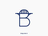Bridge letter B