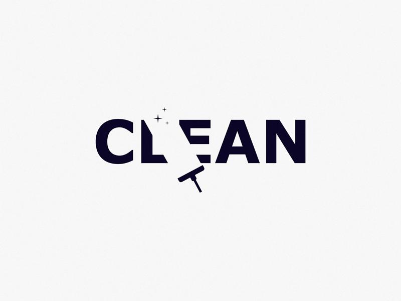 Clean design brand symbol icon logo clean