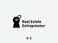 Real Estate / keyhole + tag