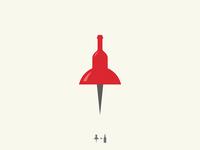 Wine Pin