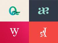 Hi guys! My selection of monograms.