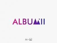Albumii photo / photo icon + letter M