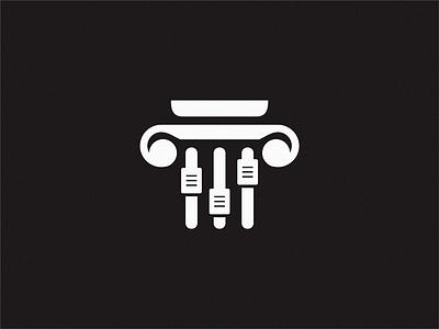 Music School brand symbol icon logo school music