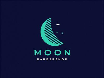 moon barbershop / comb + moon comb barbershop moon