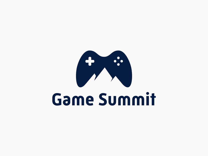 Game Summit branding letter identity sign yuro illustration design brand symbol icon logo summit game