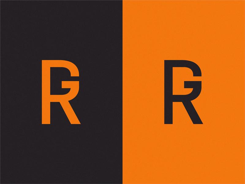 monogram RG design branding symbol monogram logo rg monogram letter mark monogram