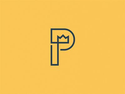Prince letter P / logo idea