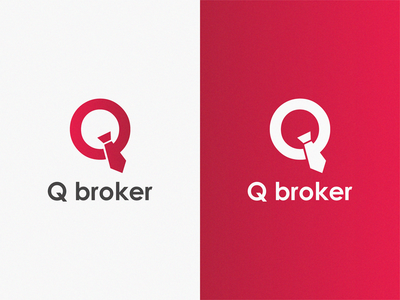 Q broker / logo idea